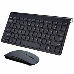 Wireless Keyboard Ultra Slim & Mouse for Apple Mac Laptop PC