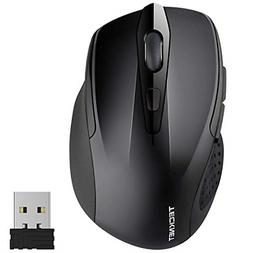 Wireless Large Mouse Cordless Optical USB Receiver for Lapto