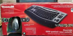 Microsoft Wireless Laser Desktop 6000 v2 Ergonomic Keyboard