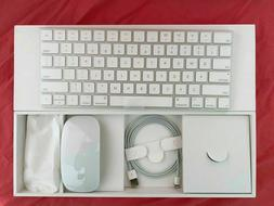 Apple Wireless Magic Keyboard MLA22LL/A and Magic Mouse 2 ML
