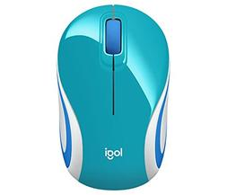 Wireless Mini Mouse M187, Pocket Sized Portable Mouse for La