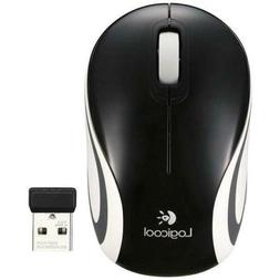 Logitech M187 Wireless Mini Optical Mouse, Blue