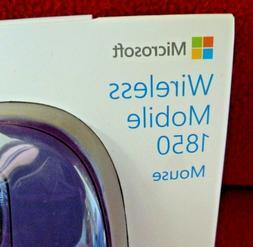 Microsoft Wireless Mobile Mouse 1850, Purple