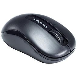 LINGYI 2.4GHZ Wireless Mouse, 3 Adjustable DPI Levels, Porta