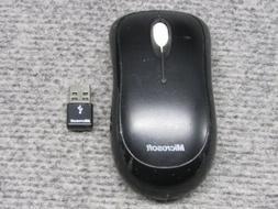 Microsoft Wireless Mouse 1000 Model 1454 w/ USB Receiver *Te