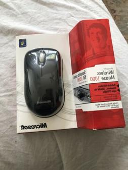 MICROSOFT Wireless Mouse 1000 Model 1454 with usb dongle ada