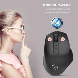 HXSJ Wireless Mouse 2.4GHz Game Ergonomic Design Vertical 24