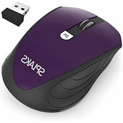 Wireless Mouse, Splaks 2.4Ghz Mice Buttons Portable Office 3