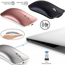 Wireless Mouse 2.4GHz Rechargeable Optical Mice For Macbook