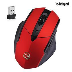 inphic Wireless Mouse, Egonomic Rechargeable Gaming Cordless