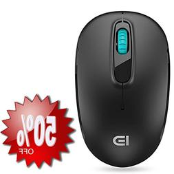 Wireless Mouse , FD M510c 2.4G Mini Silent Click Cordless Mo
