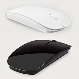 2.4G Wireless Mouse with USB 2.0 Receiver Black