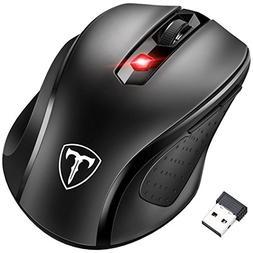 Wireless Mouse, Pictek 2.4G USB Wireless Mice Optical PC La
