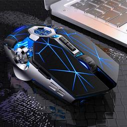 Wireless mouse Gaming 7 Color LED Gaming Mouse Usb Backlit R