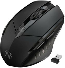 inphic Wireless Mouse Large Ergonomic Rechargeable 2.4G PC L