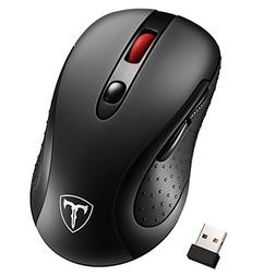 Habor Wireless Mouse, 2.4G Cordless Mouses Portable Optical