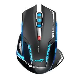 E-3lue Wireless Mouse,4 Adjustable DPI Levels,Blue LED 2.4GH