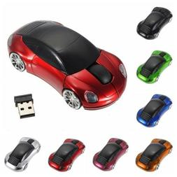 Wireless Mouse Racing Car Shaped 2.4GHz Optical Gaming Mice