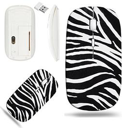 Liili Wireless Mouse White Base Travel 2.4G Wireless Mice wi