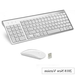 Wireless Mouse with Number Pad & Keyboard for Apple Mac Mini