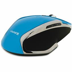 Verbatim Wireless Notebook 6-Button Deluxe Blue LED Mouse -