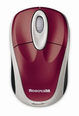 Microsoft Wireless Notebook Optical Mouse 3000 - Pomegranate