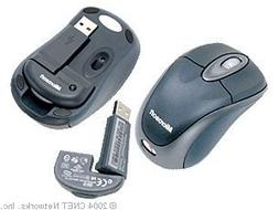 Microsoft Wireless Notebook Optical Mouse 3000 - Slate