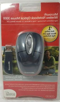 Microsoft Wireless Notebook Optical Mouse 3000  NEW in Packa