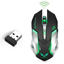 LinkStyle Wireless Optical Gaming Mouse with USB Receiver Co