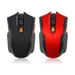 Wireless Optical Gaming Mouse with 2.4GHz USB Receiver for P