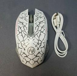 TENMOS Wireless Optical Gaming Mouse with USB Dongle - Open