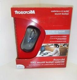 Microsoft Standard Wireless Optical Mouse 1000 -Black