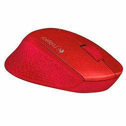 Logitech Wireless Optical Mouse with Curved Design and Exten