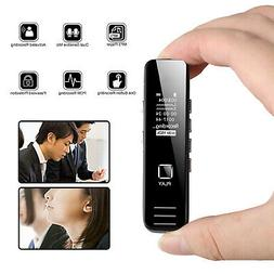 Mini Digital Audio Sound Voice Recorder Dictaphone Spy OLED