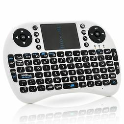 Wireless QWERTY Keyboard   Mouse Pad - Game Controller