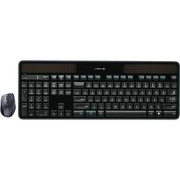 Logitech Wireless Solar Keyboard & Marathon Mouse Combo MK75