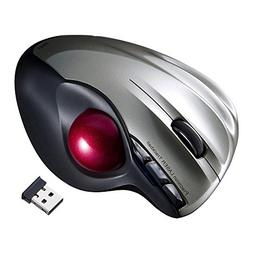Wireless Trackball Mouse Finger HandHeld USB Mice for Tablet