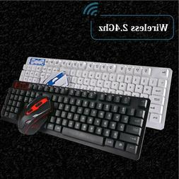 Wireless USB Keyboard & Mouse Combo Bundles PC Computer Acce