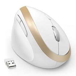 Wireless Vertical Mouse, Jelly Comb Wireless Mouse 2.4G High