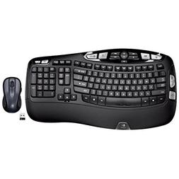 Logitech Wireless Wave Combo Mk550 With Keyboard and Laser M