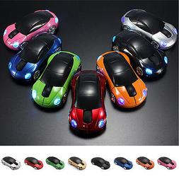 Wirless Mouse Car Wireless Gaming Mouse Optical Computer Mou