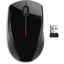 HP X3000 Wireless Mouse, Black/Metallic Gray #H2C22AA#ABL