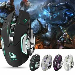 X8 LED Optical USB Wireless Rechargeable Gaming Mouse Gamer