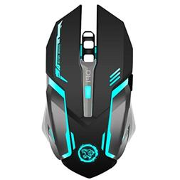TENMOS X96 Wireless Rechargeable Gaming Mouse USB Optical LE